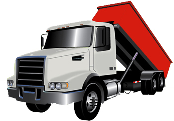 truck for dumpster rentals in Tampa, Florida